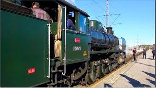 Download UKKO-PEKAN MATKASSA / 2015 • Steam Locomotive Hr1 UKKO-PEKKA 1009 (4K orig.) Video
