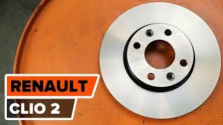 Download Tutorial: Como substituir a discos de travões, pastilhas de travão dianteiras noRENAULT CLIO 2 Video