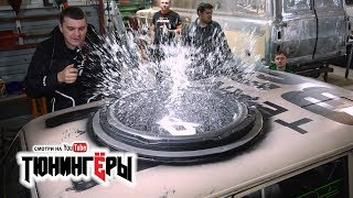 Download САМЫЙ БОЛЬШОЙ САБ в МИРЕ в КРЫШУ ВАЗ 2102 + СХОДКА в Новосибе Video