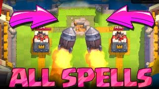 Download WIN WITH ALL SPELLS :: Clash Royale :: FUN TROLLING Video