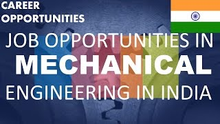 Download Job Opportunities after BE/Btech in Mechanical Engineering in Technical Field Video