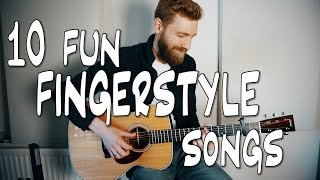 Download 10 fun FINGERSTYLE guitar songs Video