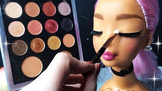 Download ASMR Makeup on Doll Head (Whispered) #4 Video