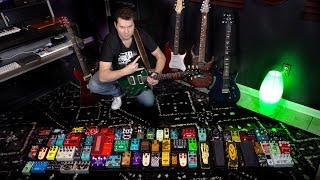 Download Turning on ALL MY GUITAR PEDALS (ridiculous) Video