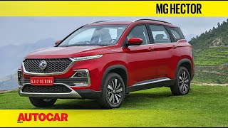 Download MG Hector | First Drive Review | Autocar India Video