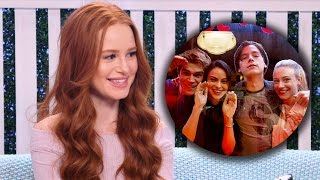 Download Riverdale's Madelaine Petsch Plays Superlative Game with Characters Video