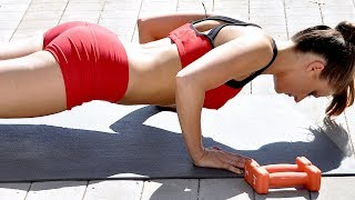 Download 50-Minute Full Body Strength Training With Weights - Metabolism Boosting Workout Video