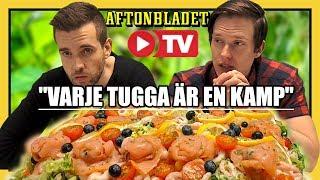 Download Äter en STOR Smörgåstårta live hos Aftonbladet TV Video