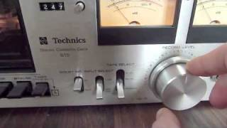 Download 1970s vintage Technics stereo system Video