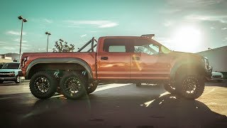Download La Ford Raptor Mas Cara del Mundo! 6x6 Video