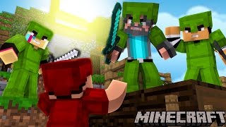 Download WE BUILT A FORTRESS!!!! | Minecraft Bed Wars Video
