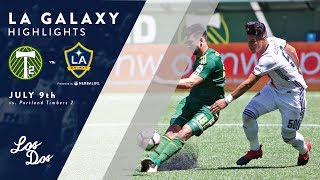 Download HIGHLIGHTS: LA Galaxy II vs. Portland Timbers 2   July 9, 2017 Video