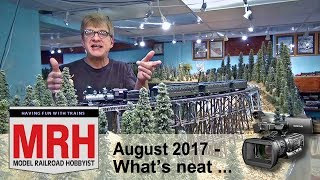 Download Whats Neat in model railroading | August 2017 Model Railroad Hobbyist | Ken Patterson Video