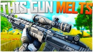 Download Is THIS The Best Gun in Blackout? IT MELTS! - BO4 Blackout Solo Victory! Video
