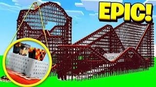 Download MINECRAFT EXPLORING THE WORLD'S LARGEST ABANDONED AMUSEMENT PARK! Video