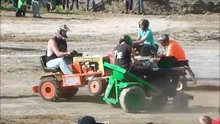 Download Garden Tractor Demolition Derby Video