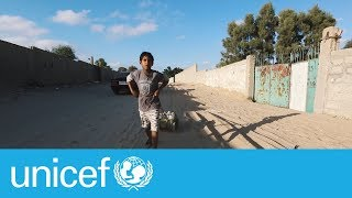 Download Clean water - a daily struggle for children in Gaza | UNICEF Video