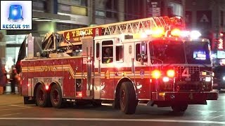 Download [Full House Response] FDNY Engine 54 + Ladder 4 + Battalion 9 Video