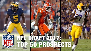 Download Top 50 2017 NFL Draft Prospects | Move the Sticks on NFL NOW Video