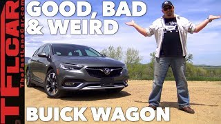 Download What's Good, Bad, and Weird about the 2018 Buick Regal TourX Wagon Video