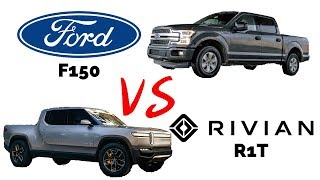 Download Ford F150 vs Rivian R1T: How do they stack up? Video