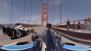 Download GoPro VR: Indycars over the Golden Gate Bridge Video