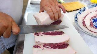 Download Japanese Food - WILD BOAR & EEL Kanazawa Seafood Japan Video