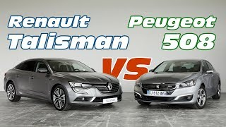 Download Renault Talisman vs Peugeot 508 : le match des familiales françaises Video