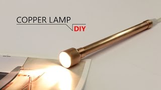 Download DIY - INDUSTRY COPPER LAMP Video