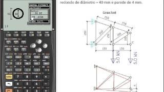 Download LARCH HP CALCULO ESTUTURAL - TUTORAL 4 (TRELIÇA) Video