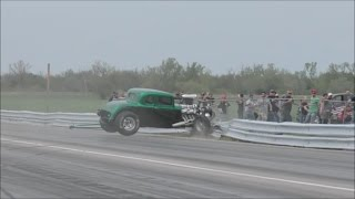 Download Street Outlaws Chuck death trap vs a Hot Rod at No Prep Mayhem Video