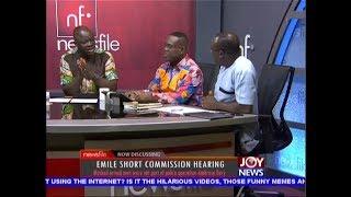 Download Emile Short Commission Hearing - Newsfile on JoyNews (16-2-19) Video