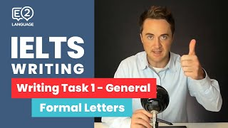Download IELTS General Writing Task 1: Formal Letters | ALL THE WAY TO IELTS 9 with Jay! Video