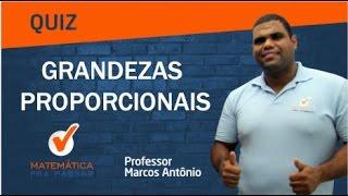 Download QUIZ GRANDEZAS PROPORCIONAIS PROFESSOR MARCOS ANTONIO Video
