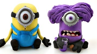 Download MINIONS Play doh STOP MOTION - Surprise Eggs TMNT + MARVEL Minions Video
