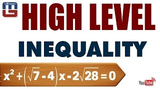 Download HIGH LEVEL INEQUALITY| MATHS | SBI PO 2017 Video