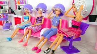 Download Rapunzel Barbie Dolls Makeover! Barbie Sparkle Style Salon kecantikan Boneka Barbie Friseursalon Video