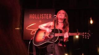 Download Sydney Sierota of Echosmith- Cool Kids Live Hollister NYC 10/27/16 Video