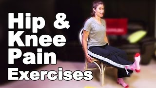 Download Hip Pain & Knee Pain Exercises, Seated - Ask Doctor Jo Video
