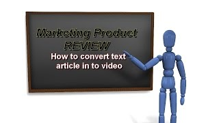 Download Text to video: how to convert text article into video Video