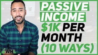 Download Passive Income Ideas 💡: 10 Ways I Make $1,000 Per Month Video