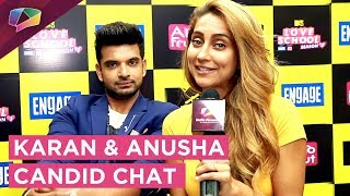 Download Karan Kundra And Anusha Dandekar's Exclusive Chat Video