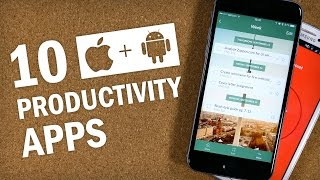 Download 10 Essential Productivity Apps for iPhone and Android Video
