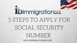 Download 5 steps to apply for Social Security Number SSN✔️ Video