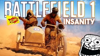Download BF1 - INSANITY & LOLS! (Battlefield 1 Adventures, Crazy Moments & Mobile Squad) Video