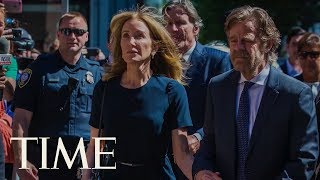 Download Felicity Huffman Gets 14 Days In Prison For Her Role In College Admissions Cheating Scandal | TIME Video