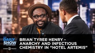 "Download Brian Tyree Henry - Anarchy and Infectious Chemistry in ""Hotel Artemis"" 