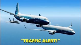 Download CHAOS @ 32,000 FEET! Airline Pilots in Flight Simulator X (Multiplayer) Video