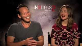Download Patrick Wilson and Rose Byrne Talk About ″Insidious: Chapter 2!″ The Lamberts Speak! Video