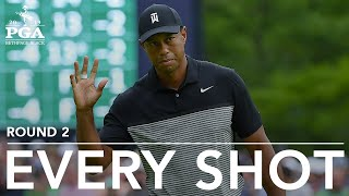 Download Tiger Woods: Every shot from his 2nd-round 73 at 2019 PGA Championship Video